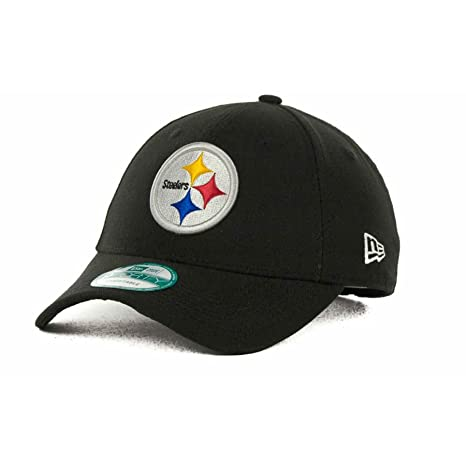 77287aebad080b Image Unavailable. Image not available for. Color: New Era Men's Pittsburgh  Steelers The League 9FORTY? Structured Adjustable Hat Adjustable