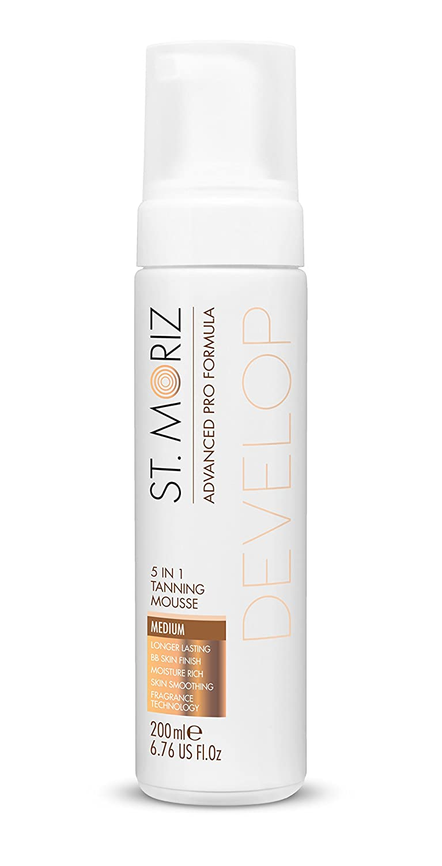 St Moriz, Autobronceador corporal (piel normal) - 200 ml. Cosmarida 098.151