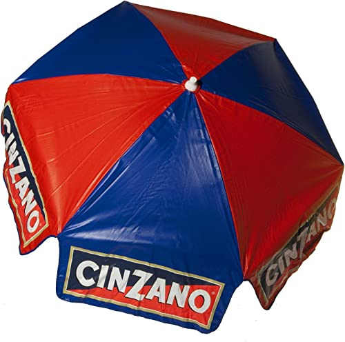 6ft Licensed Cinzano Tilt Outdoor Umbrella Home Market Canopy