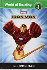 This Is Iron Man (World of Reading, Level 1) Library Binding