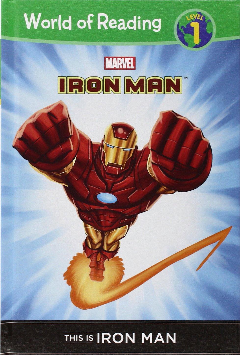 Read Online This Is Iron Man (World of Reading, Level 1) pdf epub