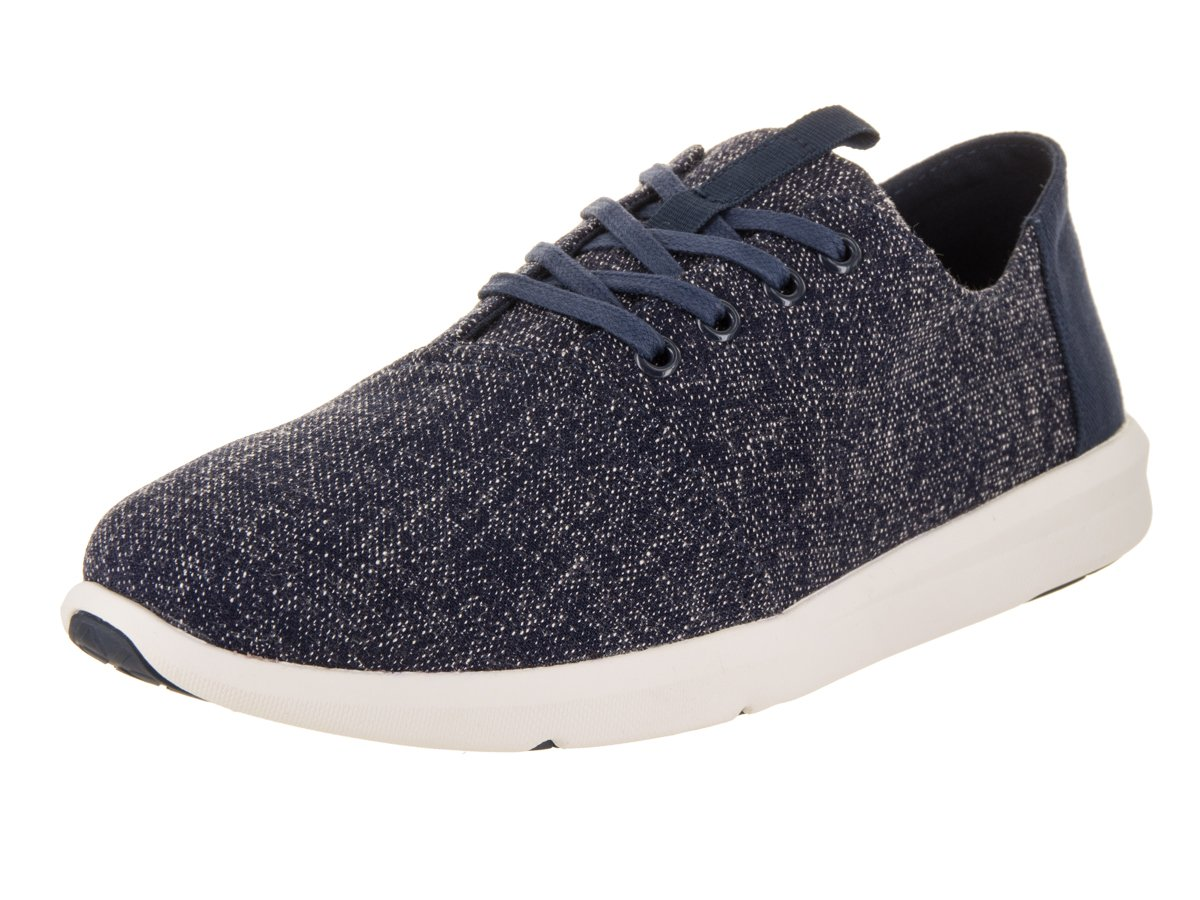 TOMS Men's Del Rey Navy Two-Tone Woven Oxford (8.5 D US)