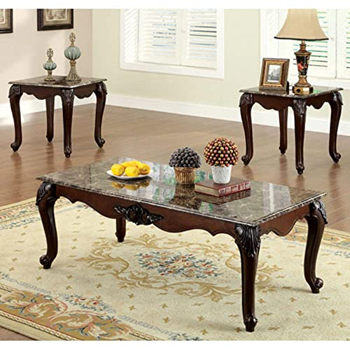 247SHOPATHOME living-room-table-sets, Cherry