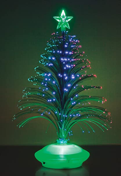 lighted fiber optic christmas tree artificial christmas tree decoration multi colored fiber optic