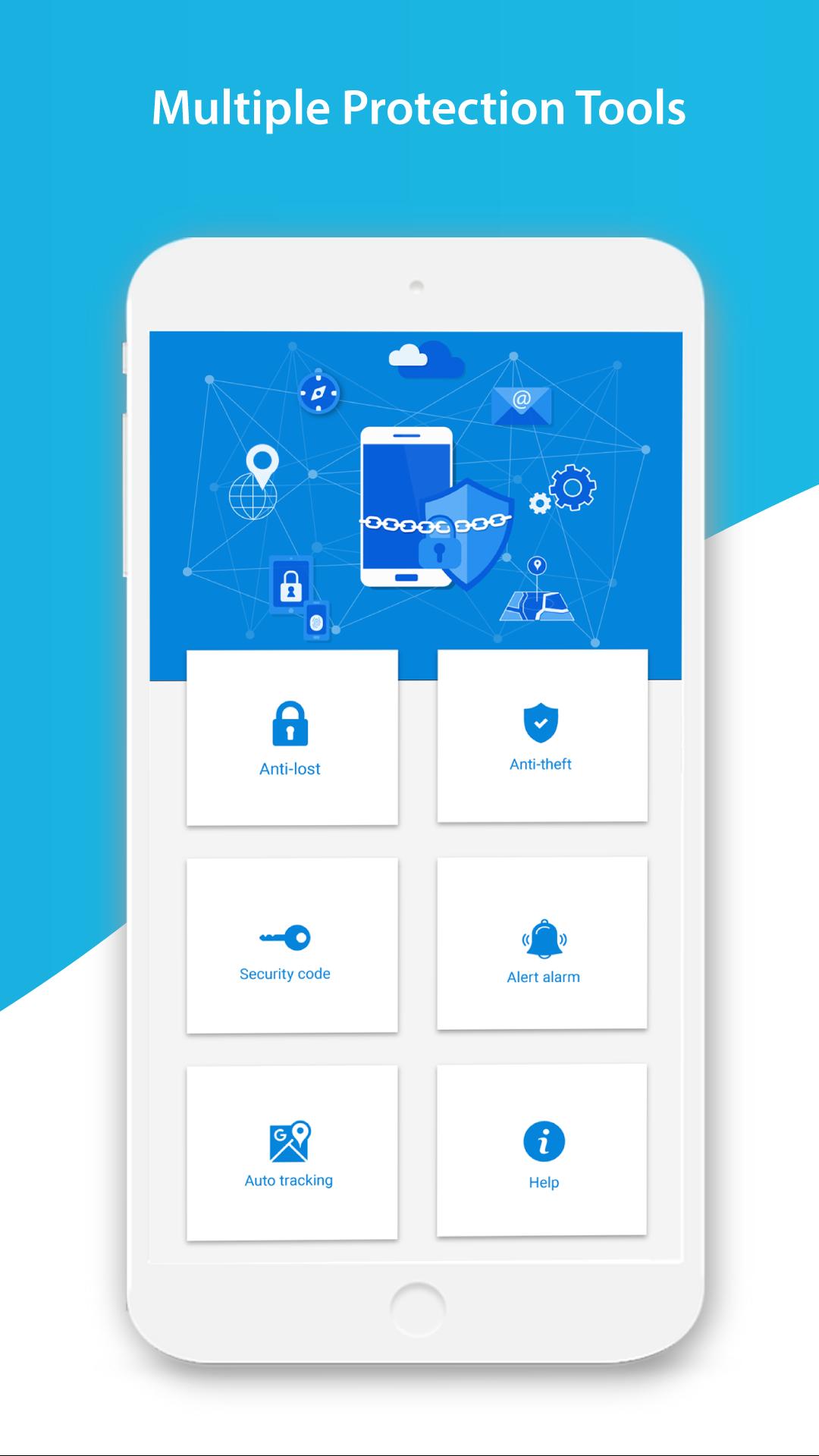 Amazon com: Phone Finder – Locate Phone, Antitheft, AntiLost