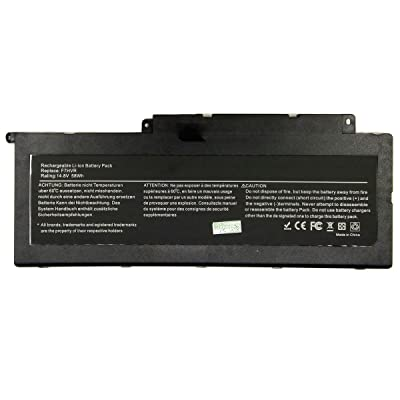 7XINbox 14.8V 58WH F7HVR Remplacement Batterie pour Dell Inspiron 17 7737 Inspiron 15 7537 Series G4YJM 062VNH T2T3J
