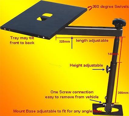 FANTASYCART Notebook Laptop Mount Desk Auto Car Truck Stand Holder