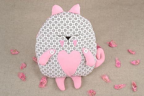 Juguete de peluche hecho a mano cojin de sofa con forma de ...