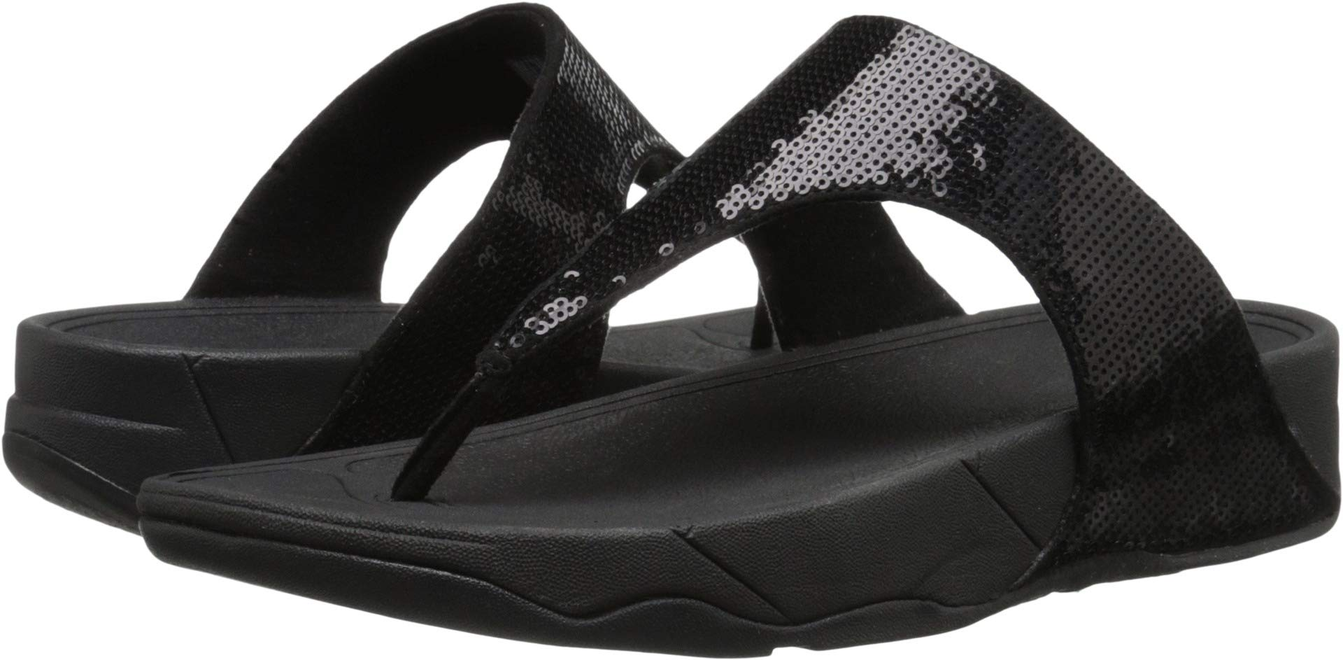 FitFlop Women's Classic Electra Sandal ,Black ,8 M US by FITFLOP