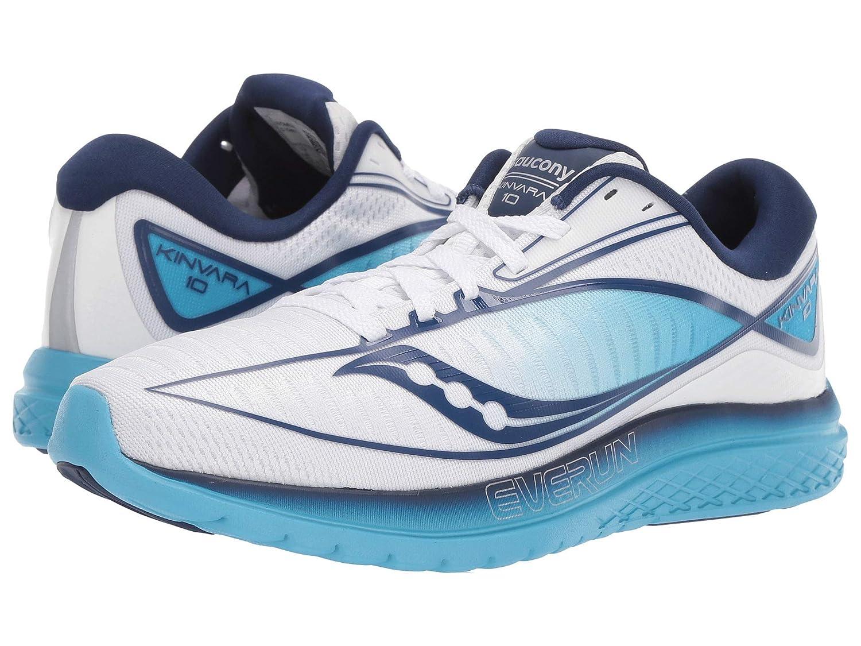 (訳ありセール 格安) [サッカニー] レディースランニングシューズスニーカー靴 Kinvara B 10 [並行輸入品] (26cm) B07P7QDWJB ホワイト/ブルー 9.5 [並行輸入品] (26cm) B 9.5 (26cm) B|ホワイト/ブルー, シダグン:4166deb0 --- ultraculture.ru
