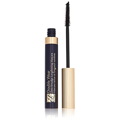 Estee Lauder Double Wear Zero-Smudge Lengthening Mascara Black for Women, 0.22 Ounce