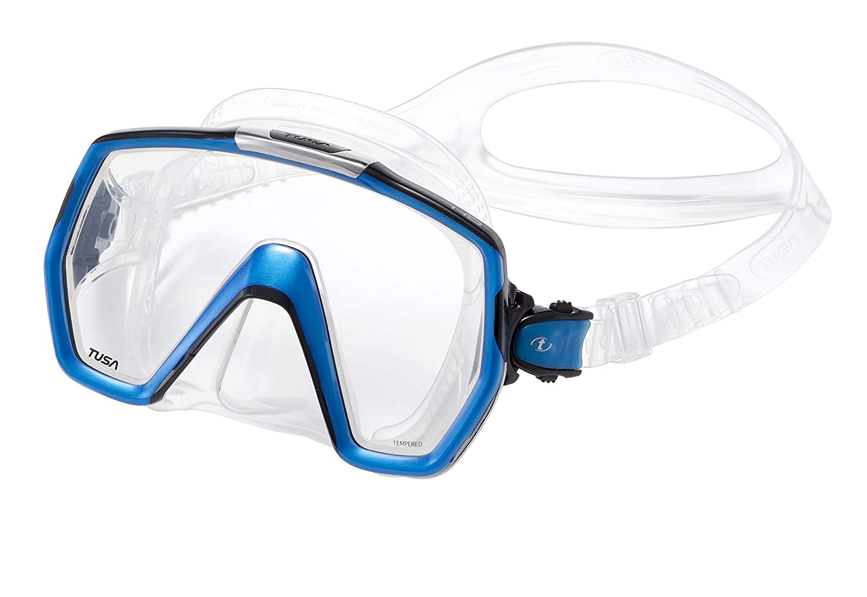 Tusa M1001 Freedom HD Scuba Diving Mask Black Silicone