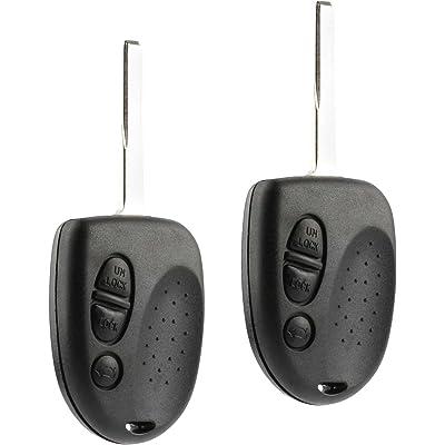 Car Key Fob Keyless Entry Remote fits 2004 2005 2006 Pontiac GTO (QQY8V00GH40001), Set of 2: Home & Kitchen