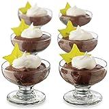 Libbey Just Desserts 17-piece, Mini Coupe Bowl Set