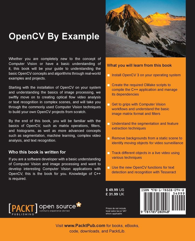 OpenCV By Example: Prateek Joshi, David Millan Escriva