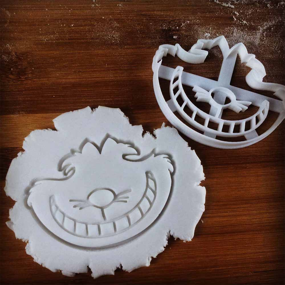 FULL SET of 4 Characters Cookie Cutters inspired by ''Alice's Adventures in Wonderland'' novel by Lewis Carroll, 4 pcs, Includes Alice, Mad Hatter, Cheshire, and White Rabbit characters by Bespoked Curations (Image #6)