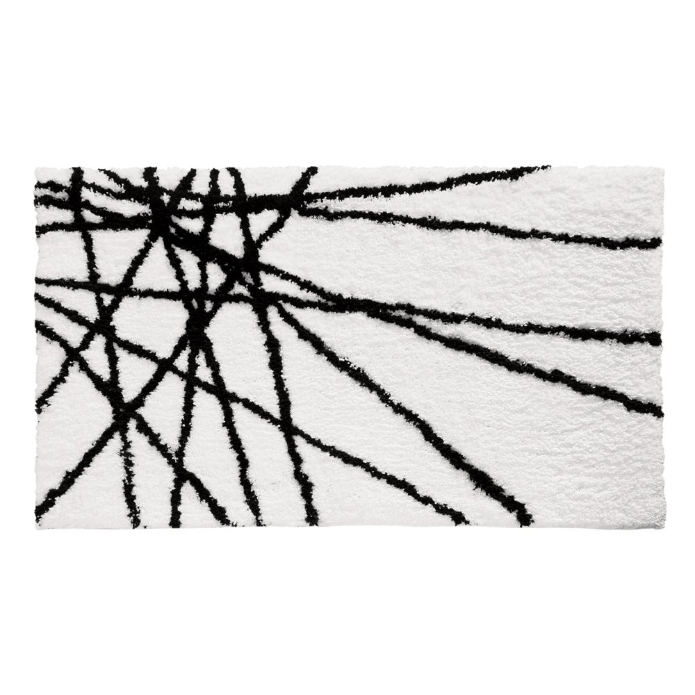 mat magnolia chip gaines black knot white bath mats texture textured products and joanna weave