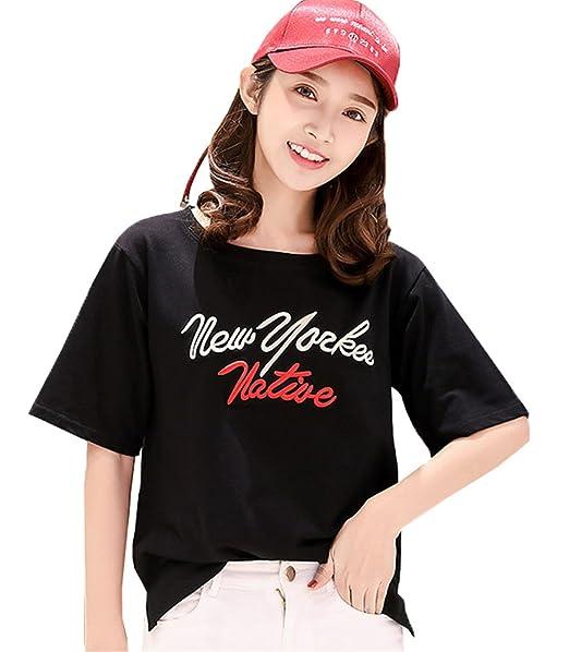 COCO clothing Camiseta - Para Mujer Negro Large
