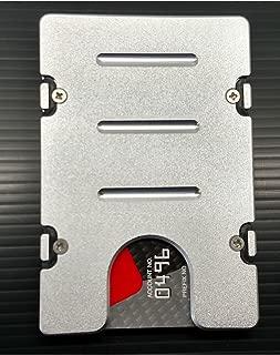 product image for HMC Billet RFID Protection Credit Card Holder Standard Aluminum Wallet, Silver