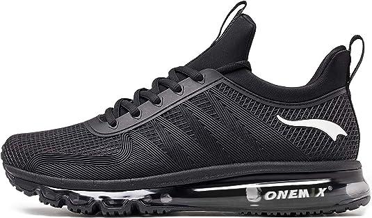 ONEMIX Zapatillas Deporte Hombres Running Zapatos para Transpirables Casual Deportivos Gimnasio Correr Sneakers: Amazon.es: Zapatos y complementos