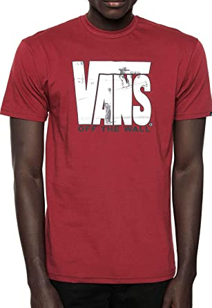 e03929d7d5 Vans Mens Off The Wall Security Logo T-Shirt VN0A3H6C (Medium ...