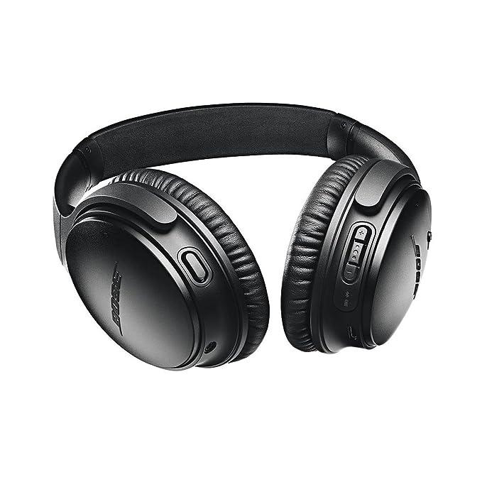 Bose QuietComfort 35 inalámbrico Auriculares II con micrófono, Cancelación de Ruido, Negro, SoundSport Auriculares inalámbricos, Color Negro: Amazon.es: ...