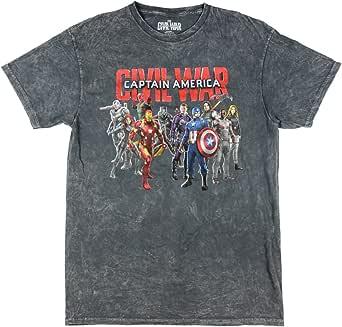 Marvel Comics Captain America Civil War Group Shot Graphic T-Shirt
