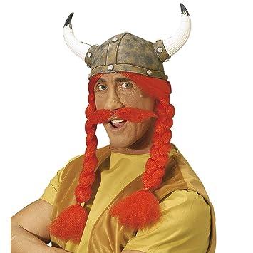 Asterix e Obelix cappello lattice carnevale Accessori  Amazon.it  Giochi e  giocattoli 94b69d13c594