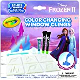 Crayola Frozen 2 Window Clings, Color Changing Custom Window Clings, Frozen Gift, Age 8, 9, 10, 11