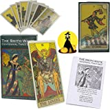Smith Waite 81 Classic Tarot Card Set, The Future Tells The Game Card Set with A Manual, A Good Helper in Predicting Fate for