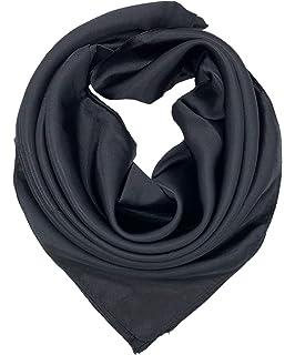 New Womens Elegant Large Head Scarves Soft Silk Feel Satin Square Scarf Shawl AU