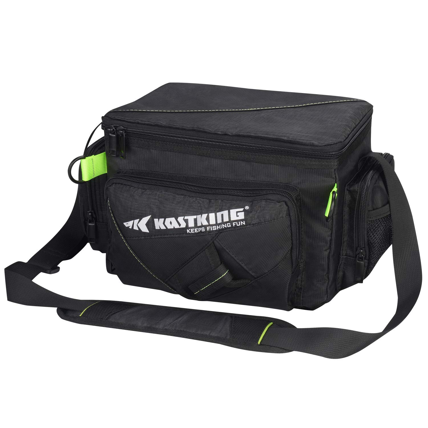 KastKing Tackle Bags - Fishing Bags - Fishing Tackle Bag with Waterproof Pocket - Fishing Gear Bag for 3600 3700 Tackle Box, Fishing Tackle