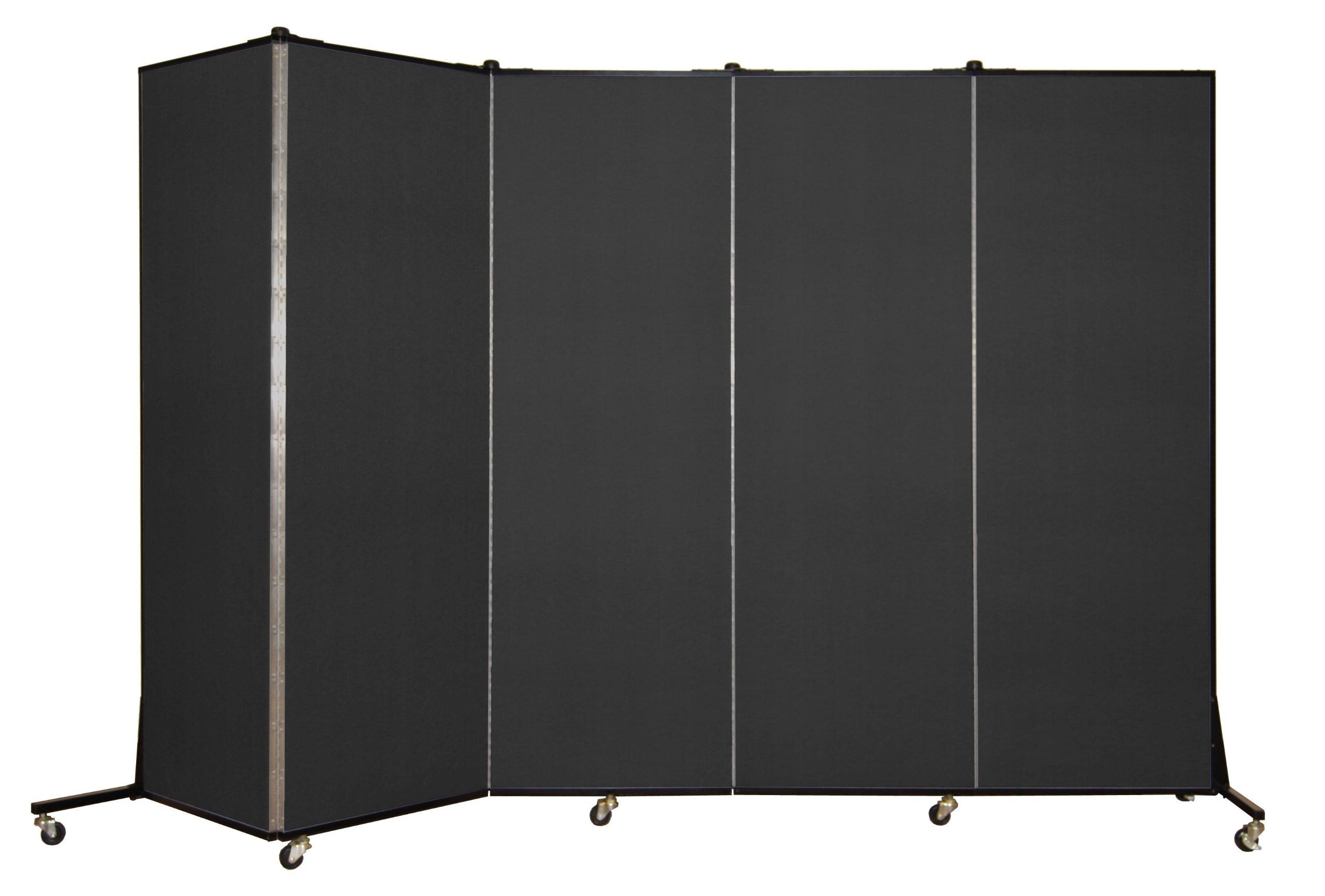 Screenflex BFSL685-DX Light Duty Portable Room Divider, 5 Panels