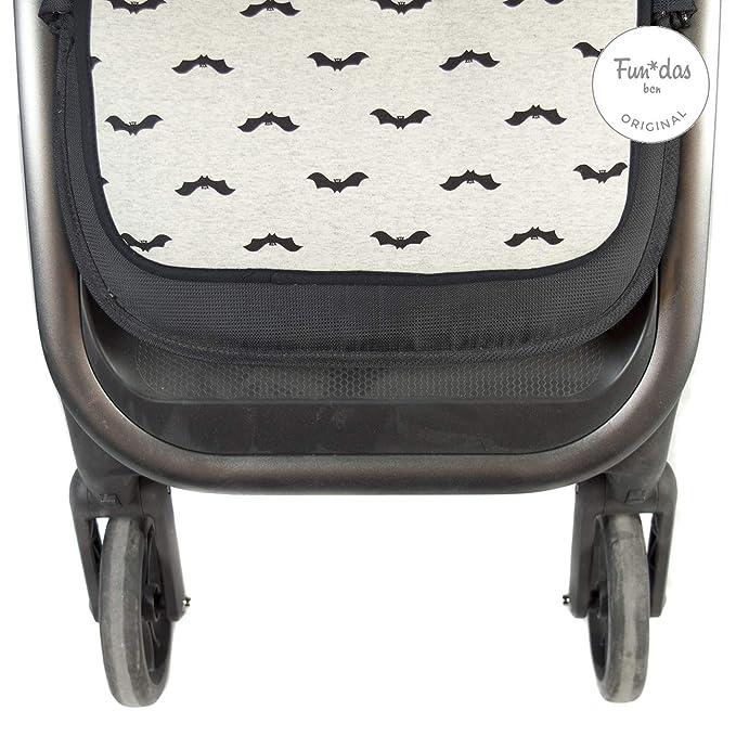 Fundas BCN ® - F158/9099 - Colchoneta Universal para Silla de Paseo - Baby Bat