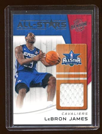 official photos b27dd 4966b Amazon.com: 2011 Panini Lebron James Game Worn All Stars ...