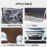 ARISD Car Retainer Clips Plastic Fasteners