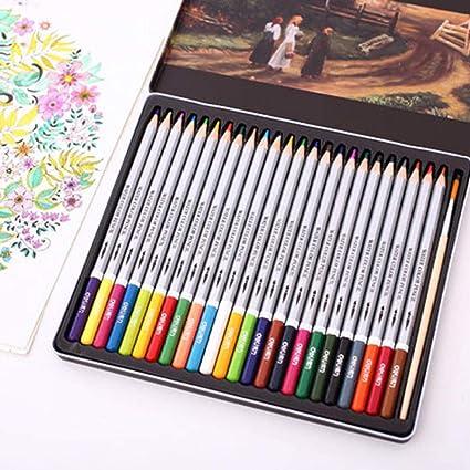 Caja de lápices de colores a granel Color de plomo soluble en agua lapiz para colorear lapiz-HB_36 color plomo Lápices de colores gigantes gigantes: Amazon.es: Oficina y papelería