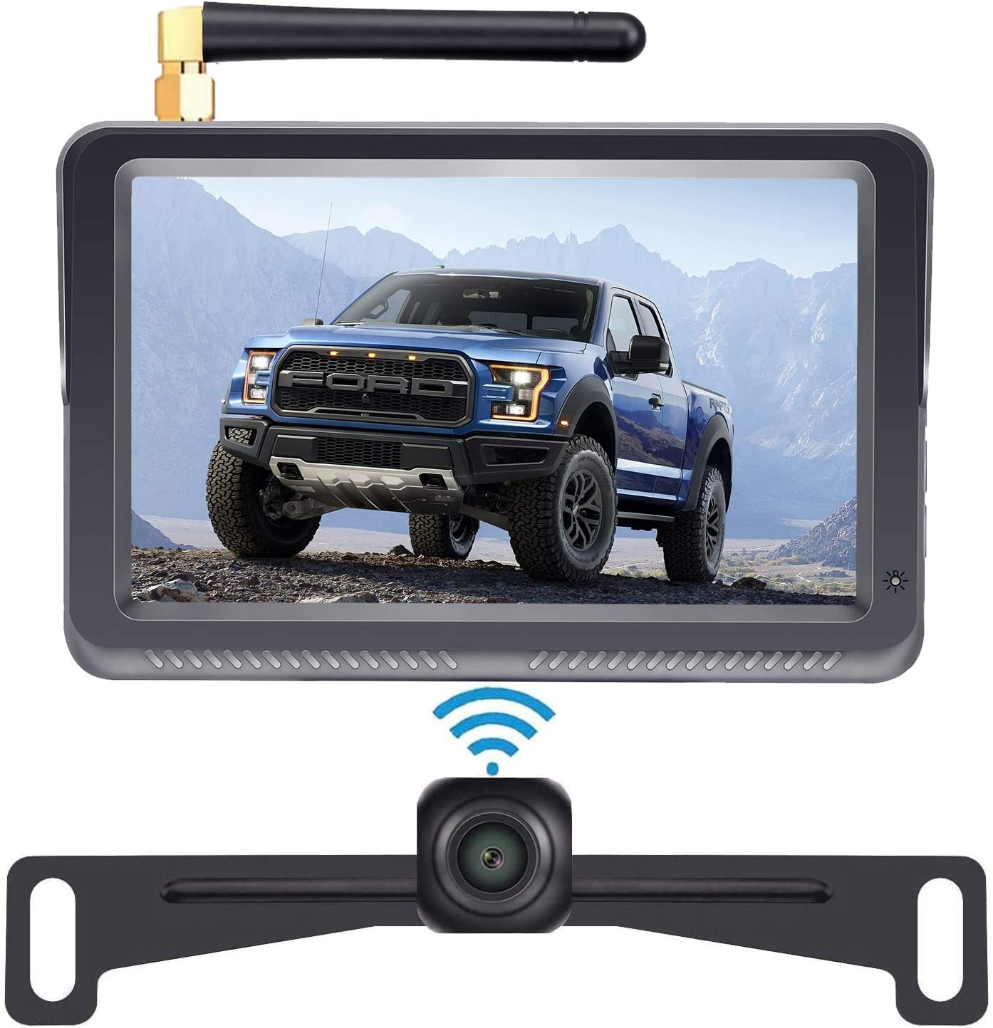 DoHonest HD Digital Wireless Backup Camera Kit