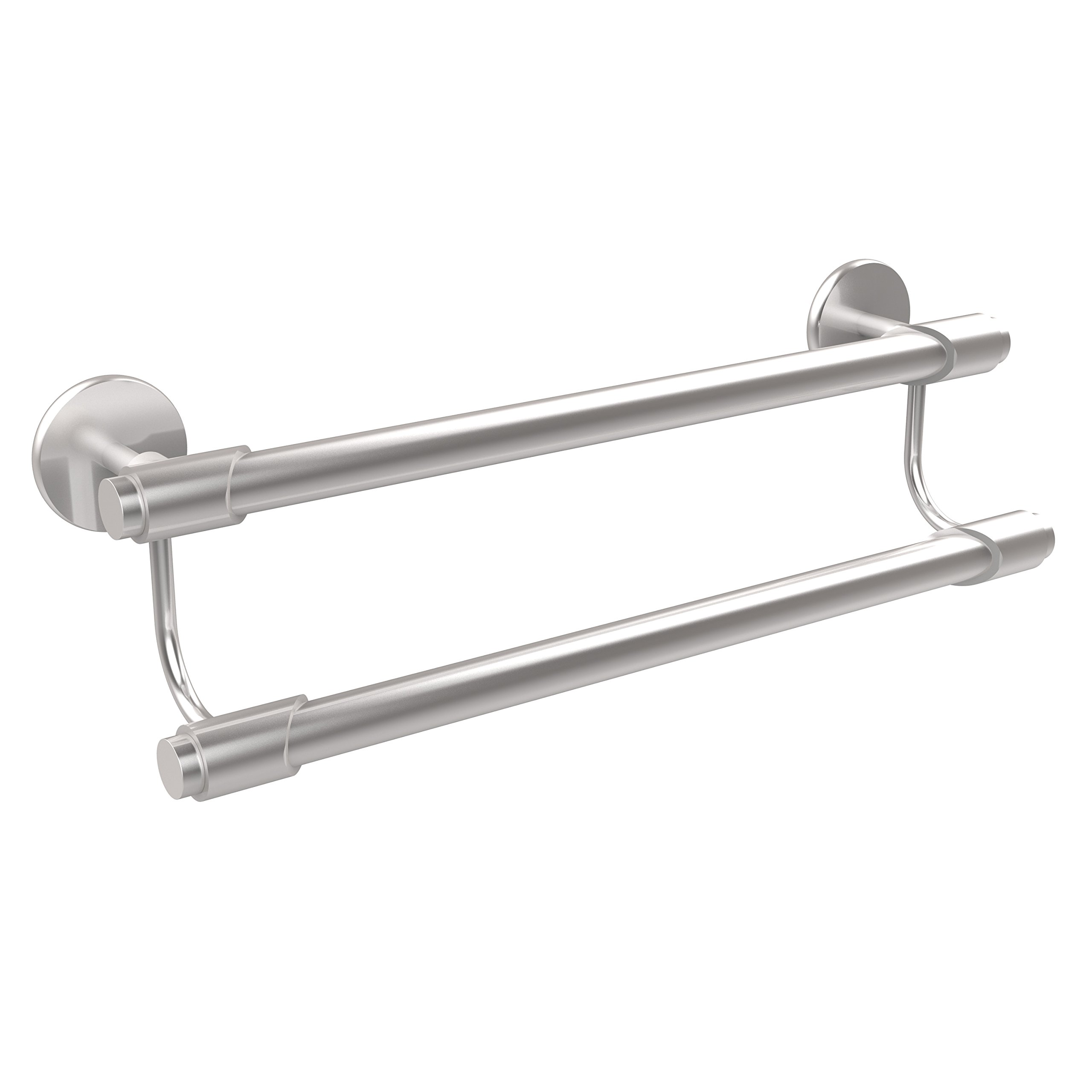 Allied Brass TR-72/36-SCH Double Towel Bar, 36-Inch, Satin Chrome by Allied Brass