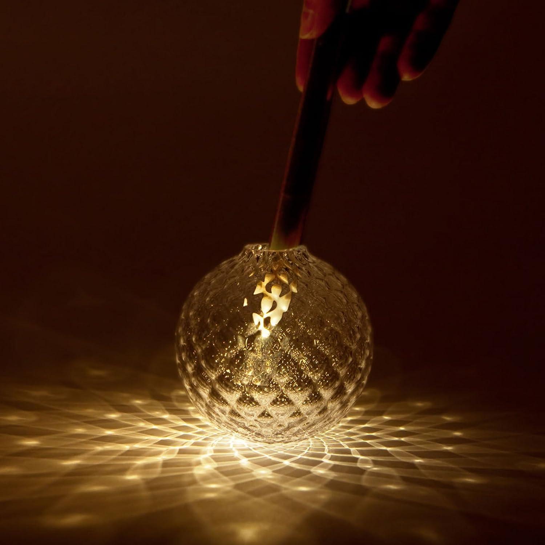 Kvel (クベル) - 音を使って「光の花」を咲かせる LEDキャンドルライト - 本体 B073WHM9MF 19440 本体|シルバー シルバー 本体