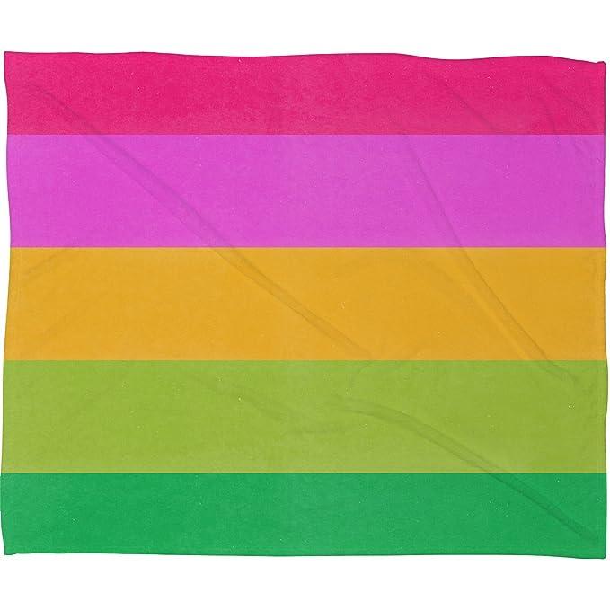 60 x 80 Deny Designs Garima Dhawan Mindscape 7 Fleece Throw Blanket