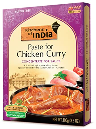 Amazon Kitchens Of India Paste Chicken Curry 35 Ounces