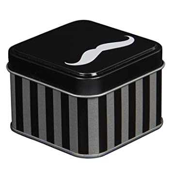 Unique Geek Gift Tin Designer Ashtrays Smokers Gift Ash Tray - Mustache Ashtrays at amazon