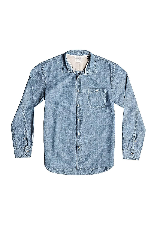 Herren Hemd lang Quiksilver The Chambray Shirt LS