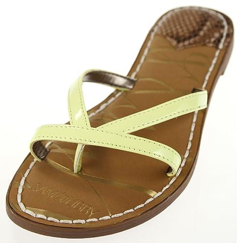 34d81579993 Sam   Libby Women s Kori Double Strap Slide Sandal Lime