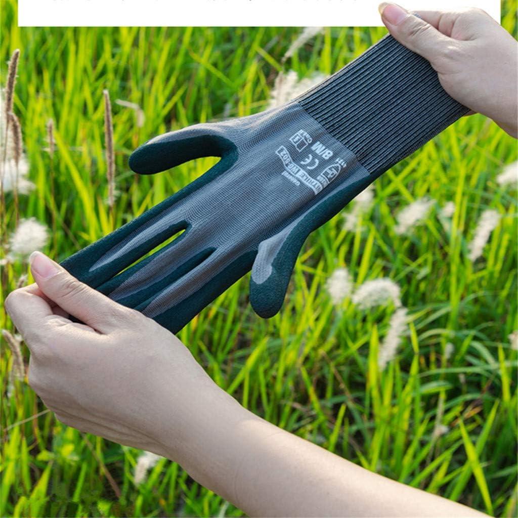 Giardino guanti lavoro guanti per donne per diserbo, scavo, rastrellando e potatura, 1 coppia (M/L),Grayl Grayl