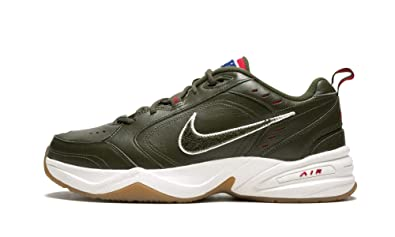 5654c2e8f3a5c Amazon.com | Nike Air Monarch 4 PR (Legion Green/Team Gold, 7) | Shoes