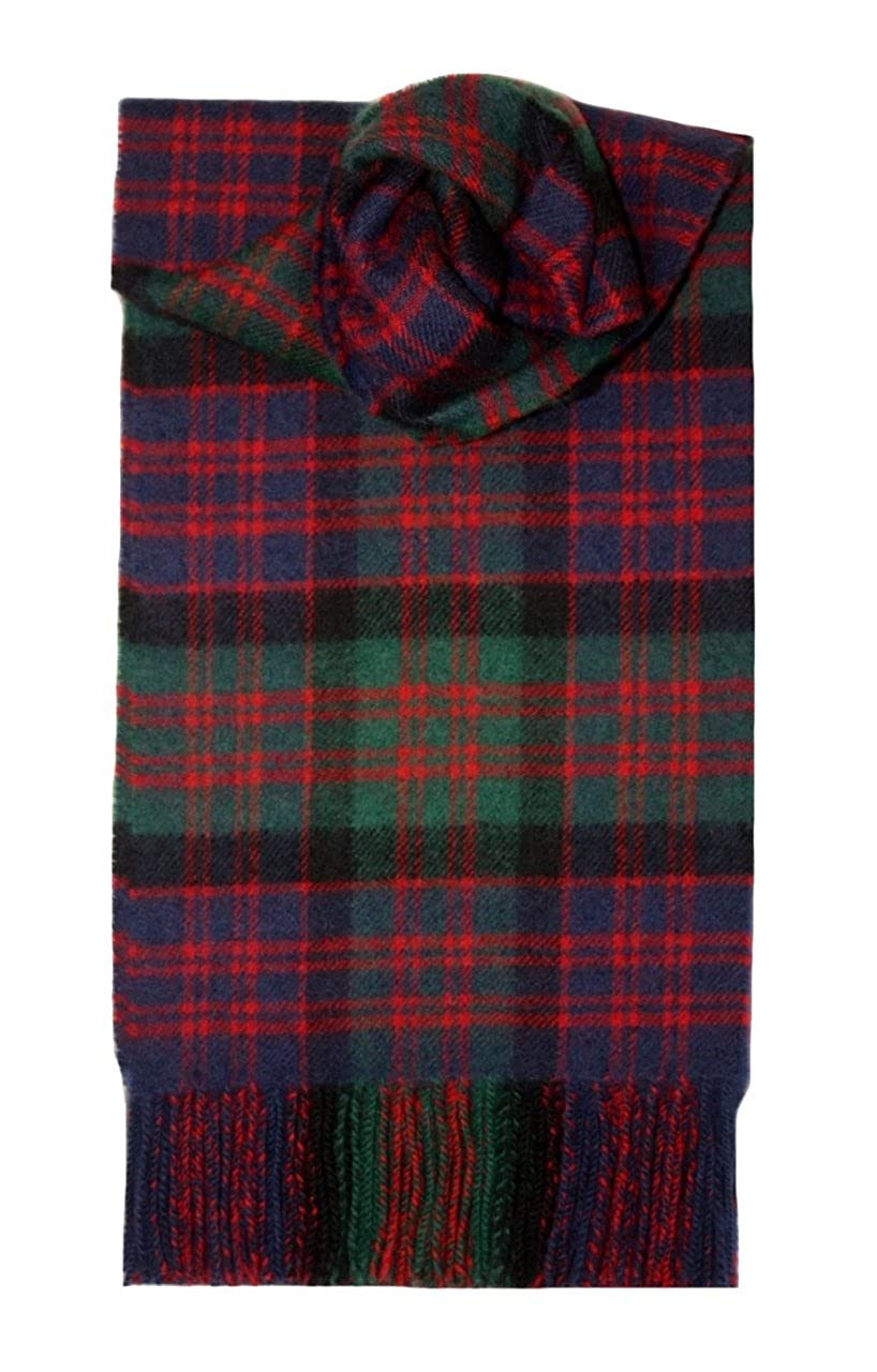 MacDonald Clan Tartan Scarf Modern Lambswool at Amazon Men s Clothing  store  Fashion Scarves 54935bed1