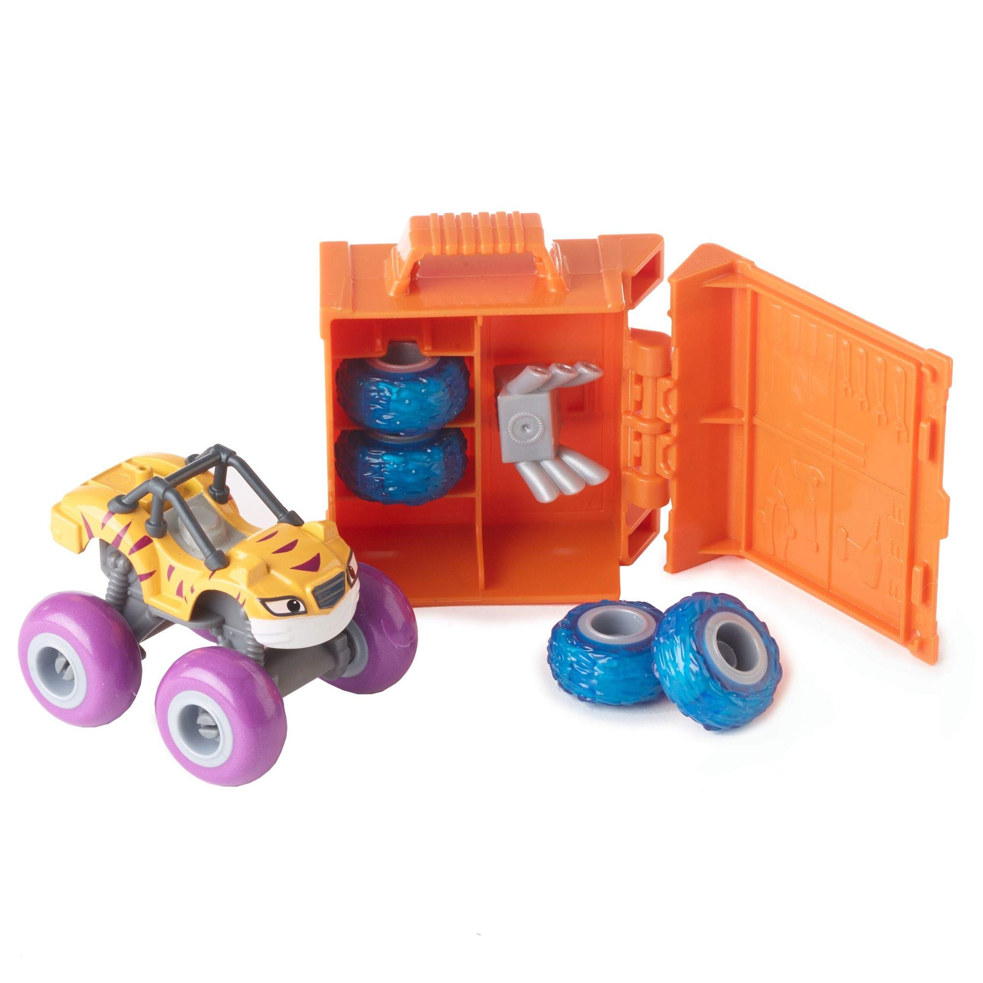 Fisher-Price Nickelodeon Blaze & the Monster Machines Tune-Up Tires, Stripes by Fisher-Price (Image #2)