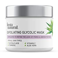 Exfoliating Glycolic Face Mask & Scrub - Anti Aging, Acne & Blackhead Treatment...